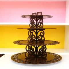 Ahşap Cupcake & Muffin Standı
