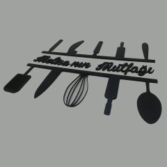 Ahşap İsimli Mutfak Dekoru (L)