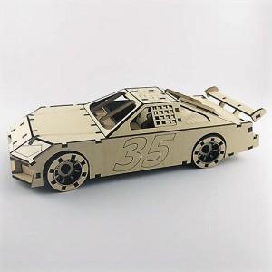 3D Puzzle Spor Araba