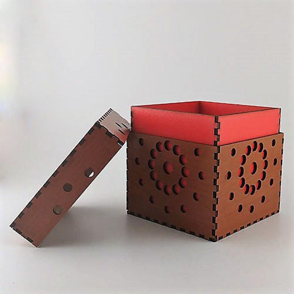 Küp Ahşap Kutu