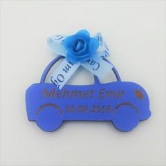 Bebek Şekeri Ahşap Araba Model 6