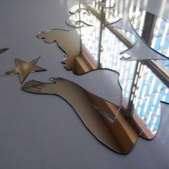 Peri ve Yıldızlar Duvar Dekoru