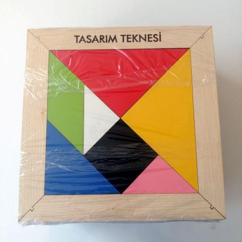 Kişiye özel İsimli Tangram