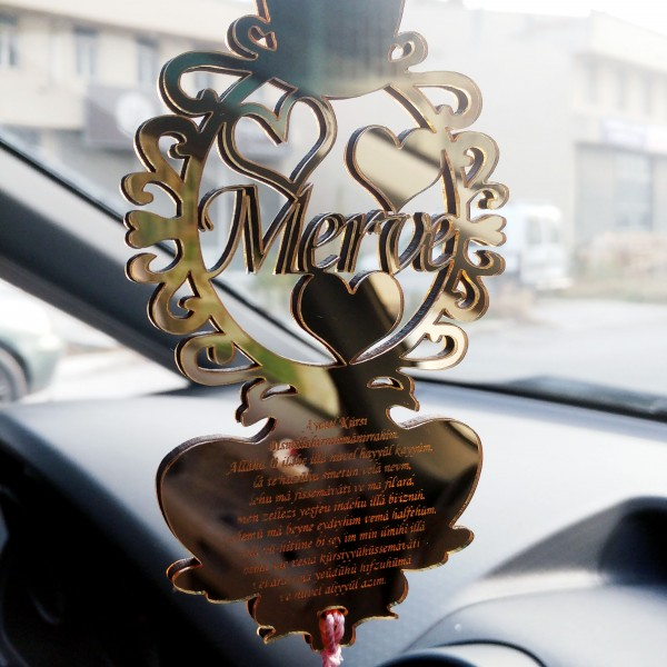 Dekoratif Dikiz Ayna Süsü
