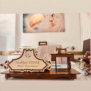 Dikiş Makinesi Masaüstü İsimlik