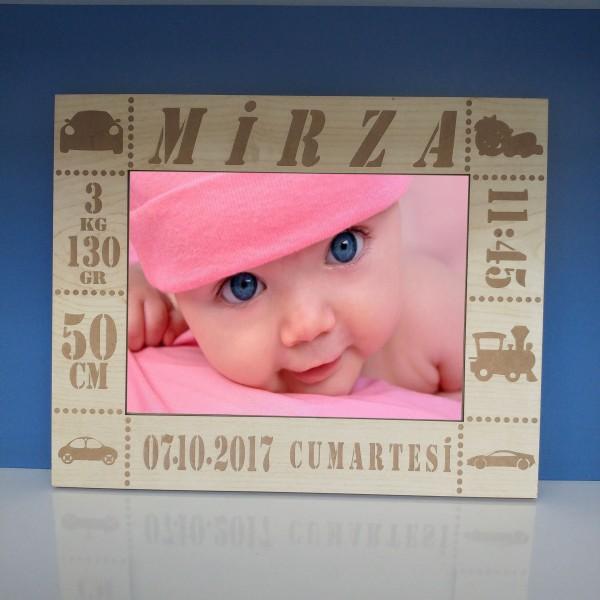 Yeni Doğan Bebek Fotoğraf Çerçevesi