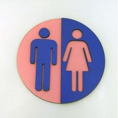WC Tabela Yönlendiricisi (Erkek-Kadın)