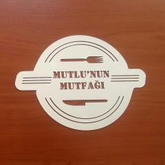 İsme Özel Ayna Pleksi Mutfak Süsü 2