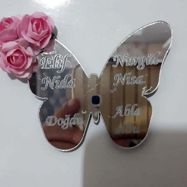Ayna Pleksi Kelebek Magnet 3