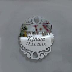 Dekoratif Ayna Pleksi Magnet 1