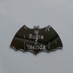 Batman Silüetli Ayna Pleksi Magnet