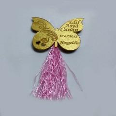 Kelebek bebek magneti Model 2