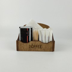 Ahşap Kafe - Mutfak Menaj Takımı