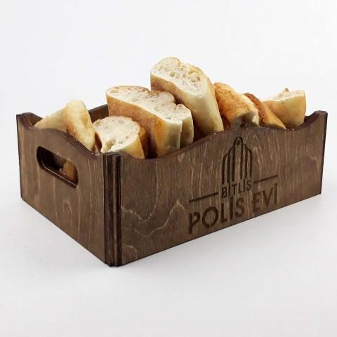 Ahşap Ekmek Sepeti Model 1
