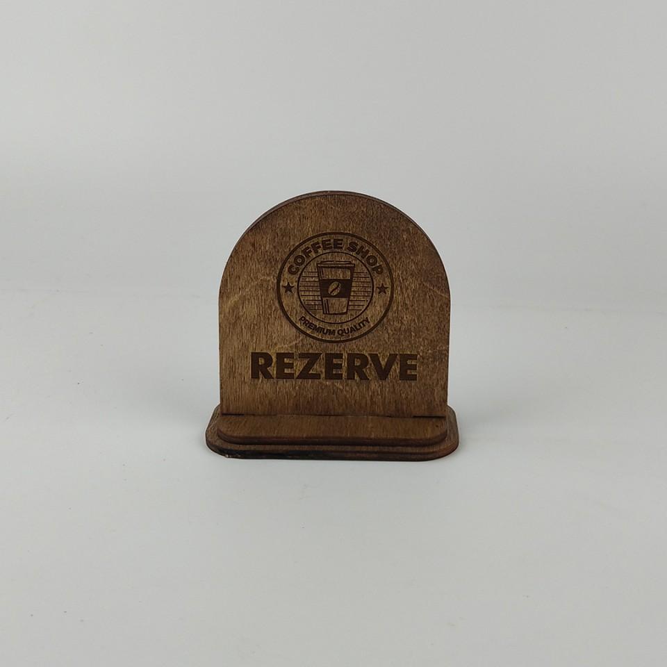Dekoratif Rezerve Levhası Model 1