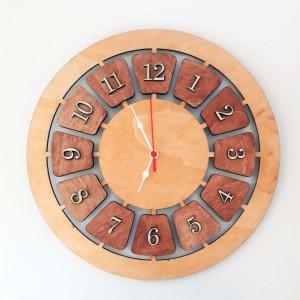 İthal Ahşap Dekoratif Duvar Saati Model 5