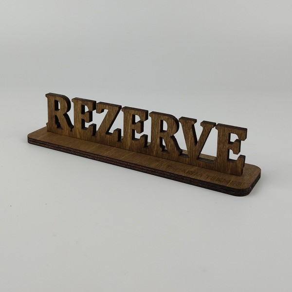 Dekoratif  Rezerve Levhası Model 3