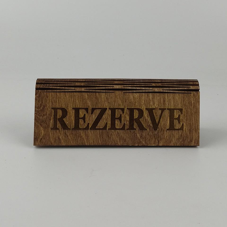 Dekoratif Rezerve Levhası Model 4
