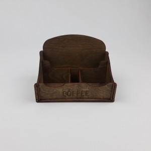 Ahşap Kafe - Mutfak Menaj Takımı Model-3