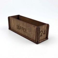Ahşap Kafe Peçetelik Model 7