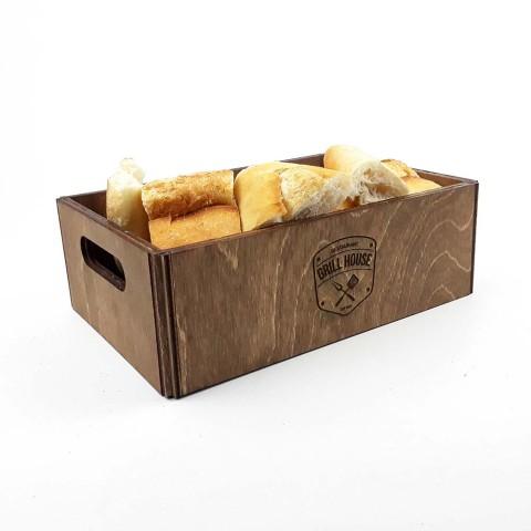 Ahşap Ekmek Sepeti Model 2